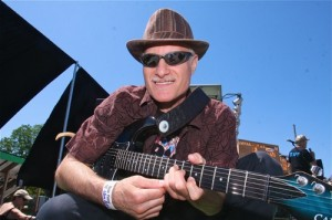 Robert Ross at the Riverhead Blues Festival (RBF) in 2012. Photographer unknown.